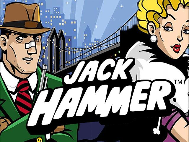 Слот Джек Хаммер 2 в казино с бонусами от NetEnt